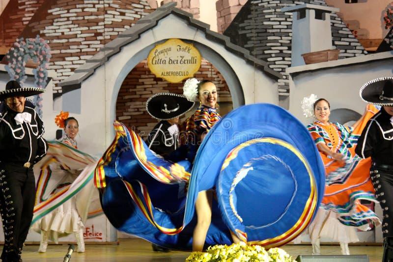 Dançarinos mexicanos foto de stock