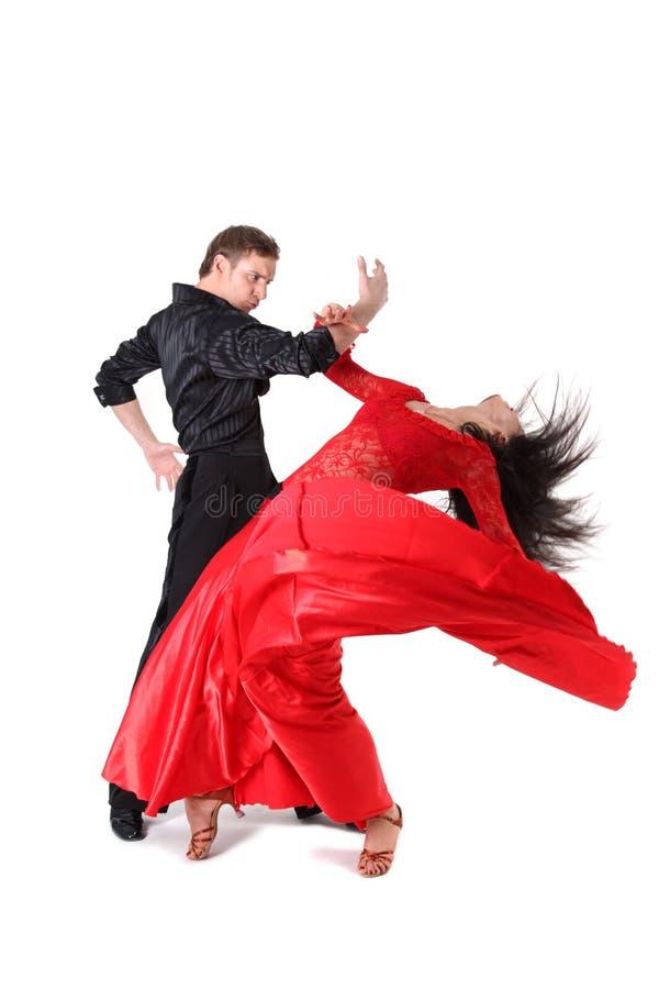 Dançarinos na ação imagem de stock royalty free