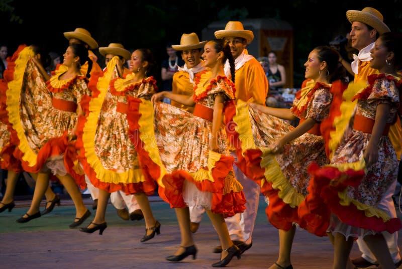 Danças de Brasil fotografia de stock royalty free