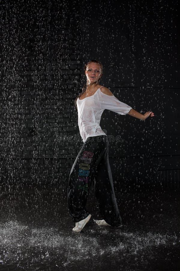 Danças modernas. fotos de stock royalty free