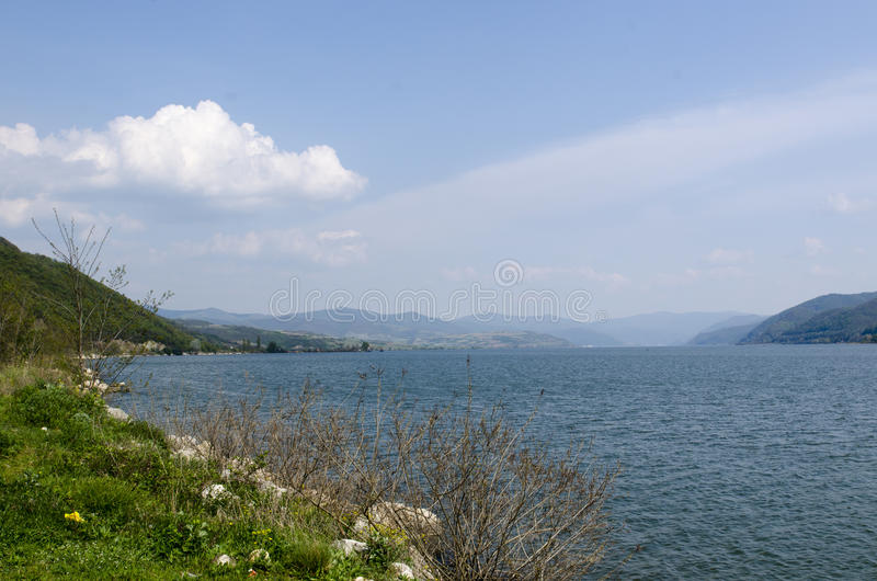 Danúbio em Cazane imagens de stock royalty free
