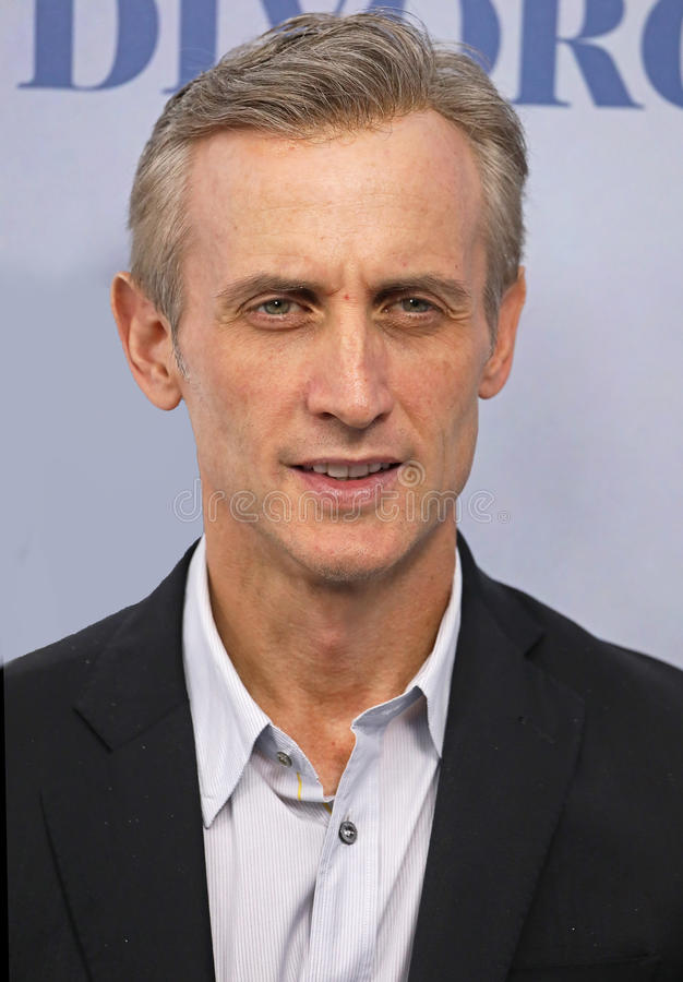 Dan Abrams. Television personality and legal analyst/expert, Dan Abrams, arrives for the New York City premiere of HBO's TV family drama, Divorce. The event was royalty free stock images