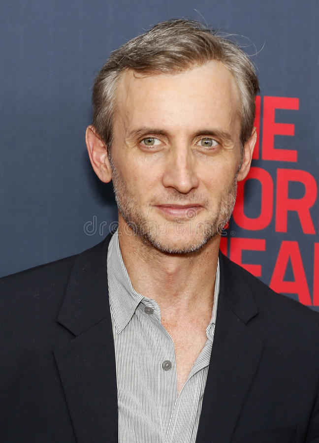 "Dan Abrams. TV personality and legal expert Dan Abrams arrives on the red carpet for the New York premiere of ""The Normal Heart, "" at the Ziegfeld royalty free stock images"