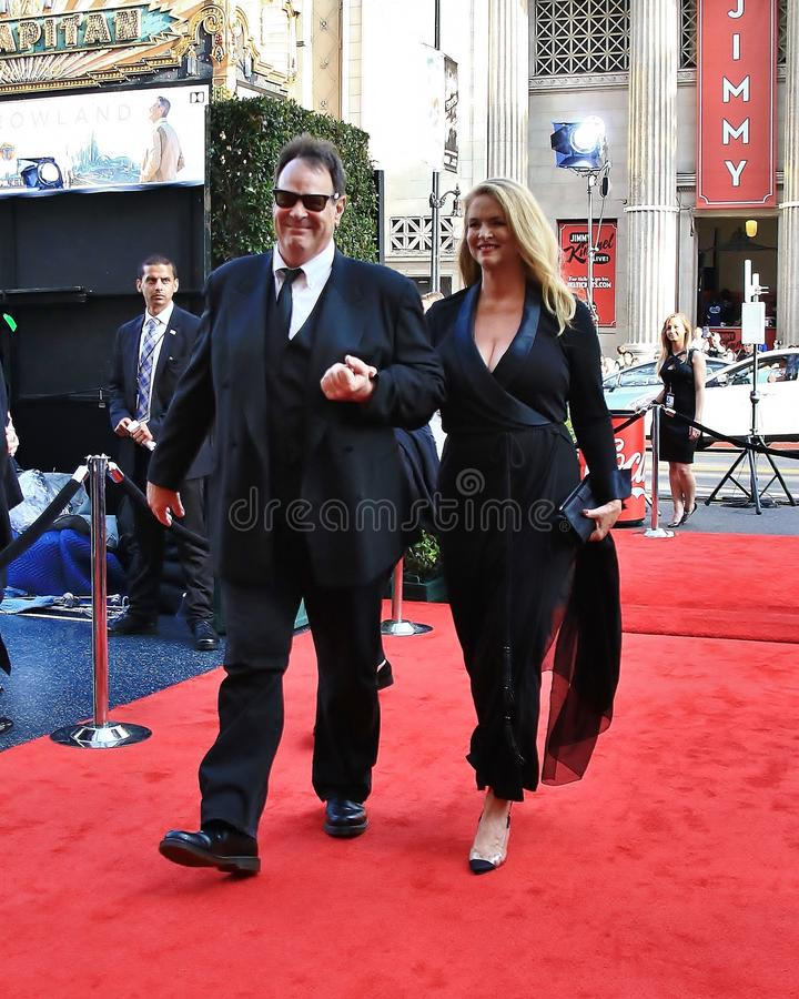 Dan Akroyd and Donna Dixon royalty free stock images