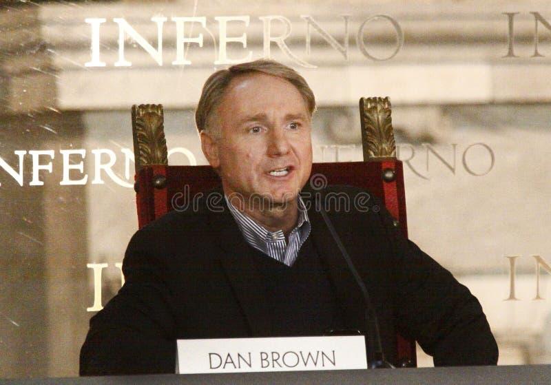Dan Brown royaltyfria bilder