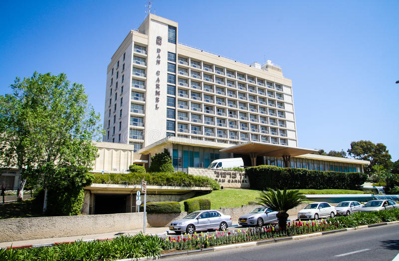 Dan Carmel Hotel στοκ φωτογραφία με δικαίωμα ελεύθερης χρήσης