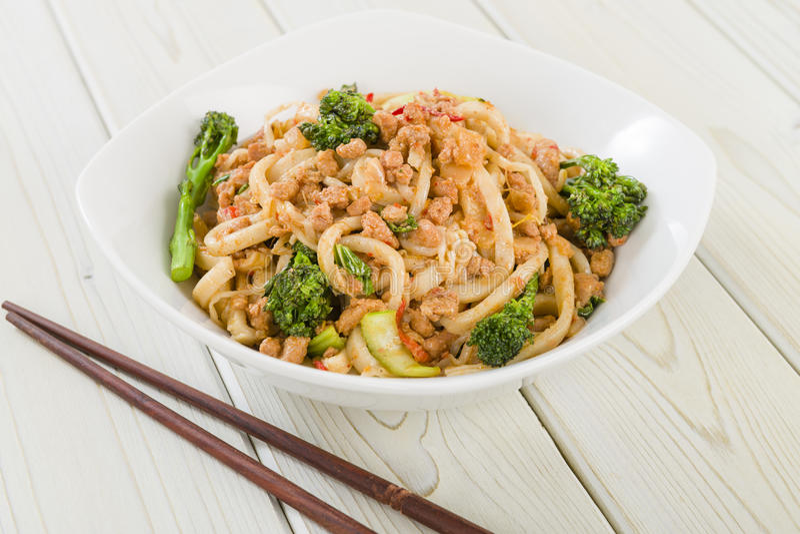 Download Dan Dan Noodles stock image. Image of dinner, noodles - 31970607