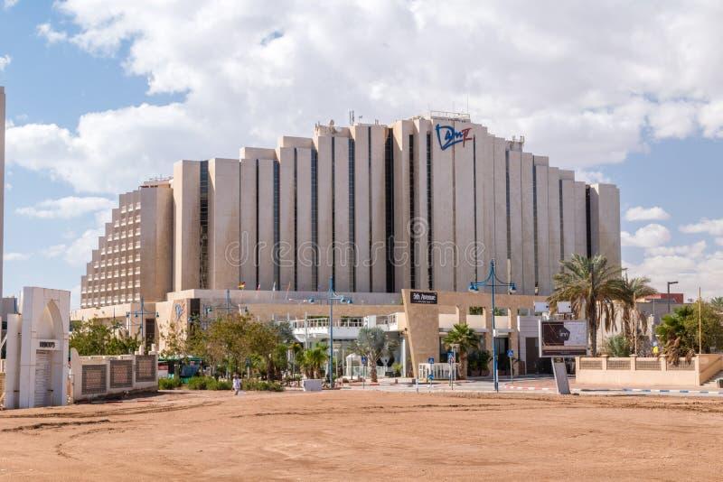 Dan Eilat Hotel. Eilat, Israel - February 9, 2019: Dan Eilat Hotel stock image
