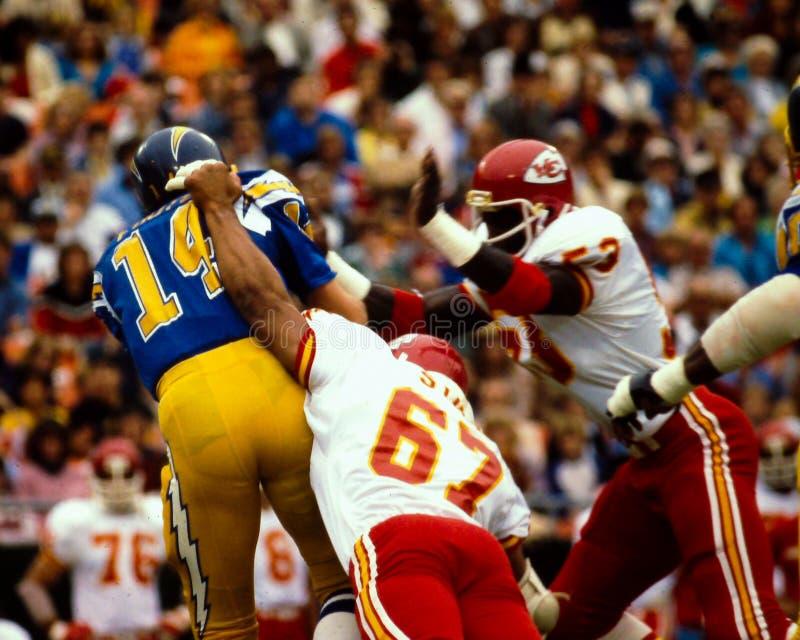 Dan Fouts San Diego Chargers fotografia stock libera da diritti