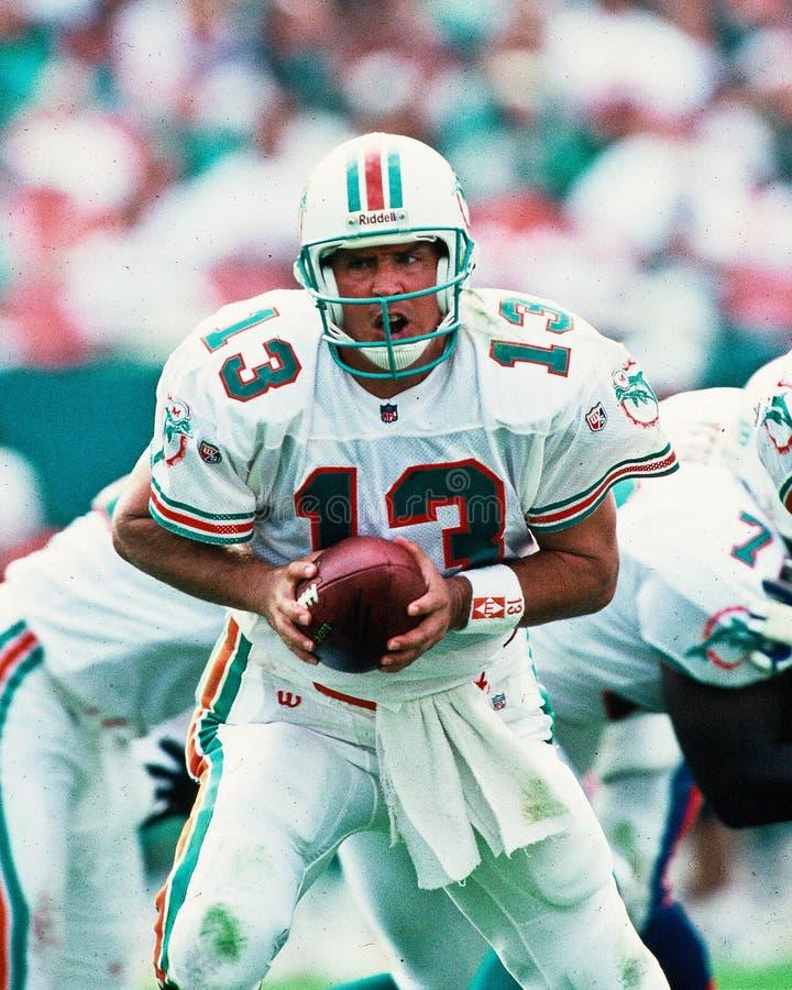 Dan Marino Miami Dolphins royalty free stock images