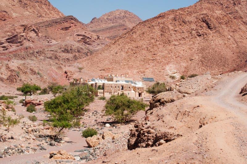 Dana Biosphere Reserve, Jordânia, Médio Oriente fotos de stock royalty free