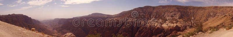 Dana Biosphere Reserve Jordan royaltyfri bild