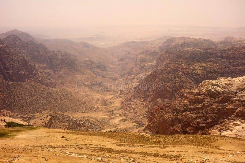 Dana Biosphere Reserve Jordan images stock