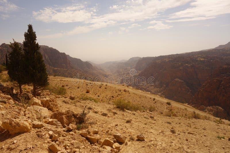 Dana Biosphere Reserve Jordan image stock