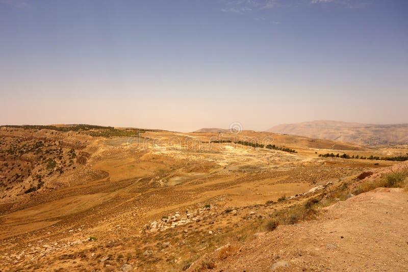 Dana Biosphere Reserve Jordan photographie stock libre de droits