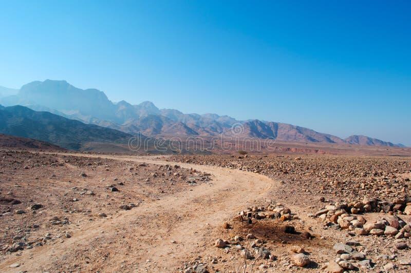 Dana Biosphere Reserve Jordanien, Mellanösten royaltyfri foto
