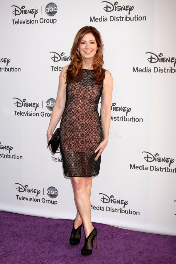 Dana Delany Arrives At The ABC / Disney International Upfronts Editorial Photo