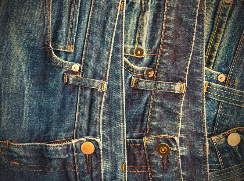 Dana jeans royaltyfri foto