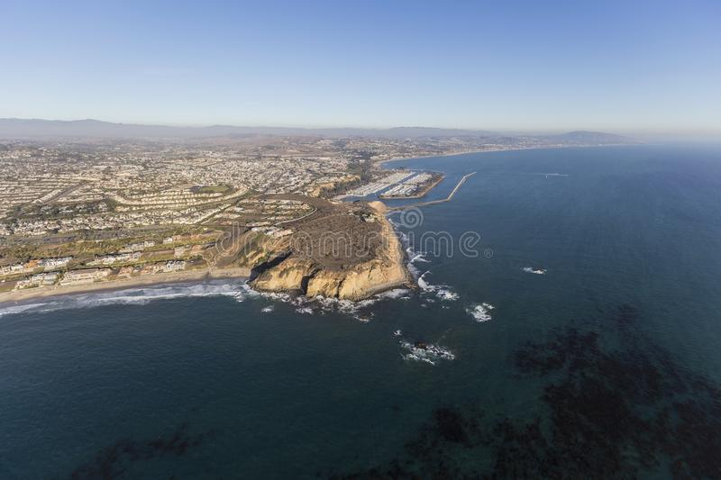 Dana Point California Aerial lizenzfreie stockfotos