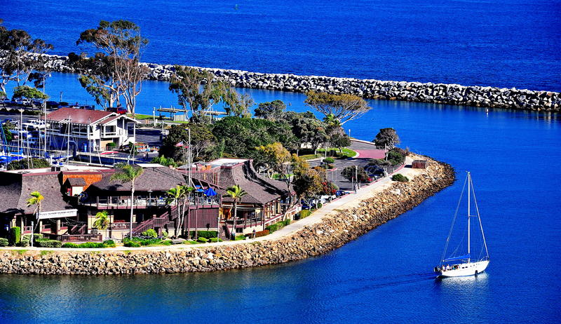 Dana Point, California stock images