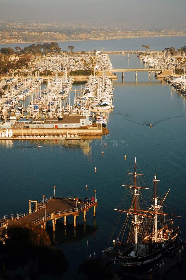 Dana Point Harbor royalty free stock photos
