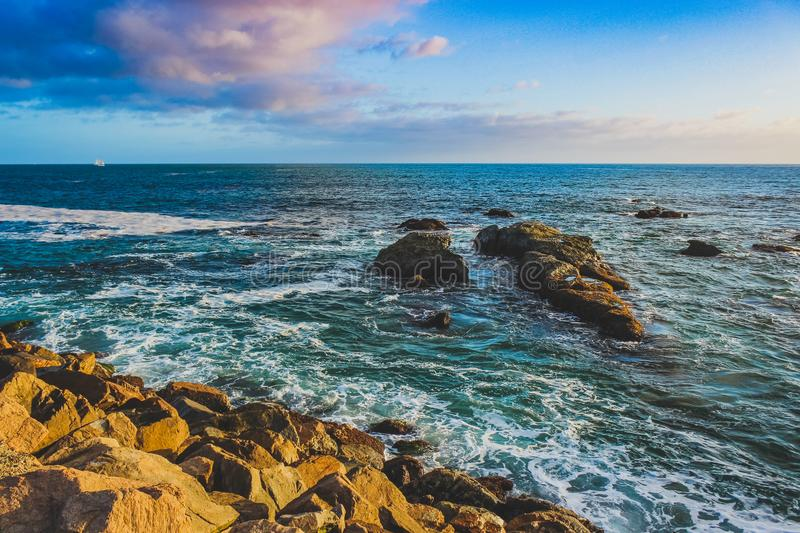 Dana Point Sunset stock photography
