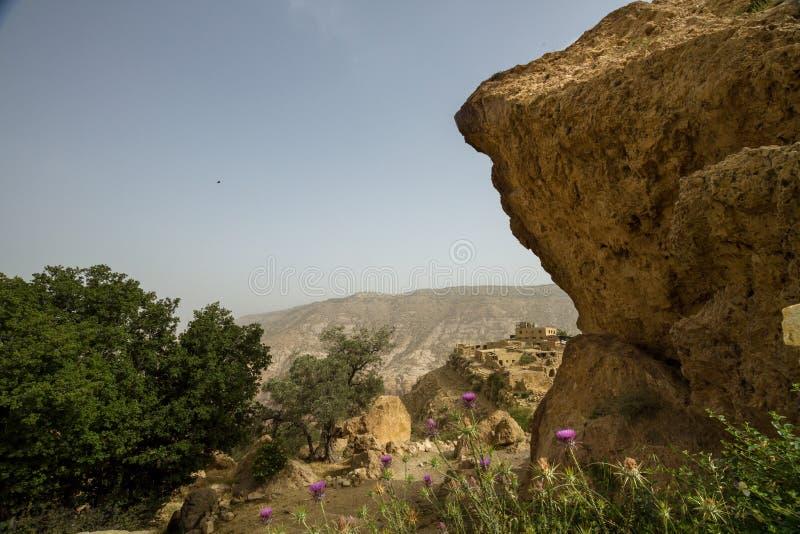 Dana Village, Giordania fotografie stock