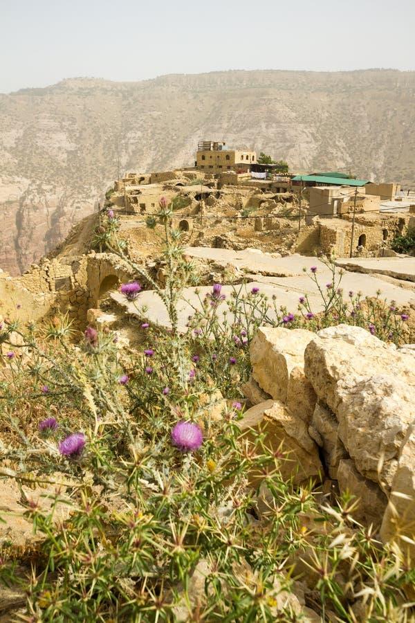 Dana Village, Jordania fotos de archivo