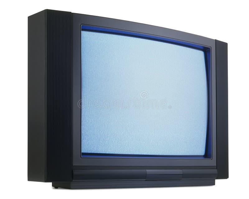 danad gammal television royaltyfri foto