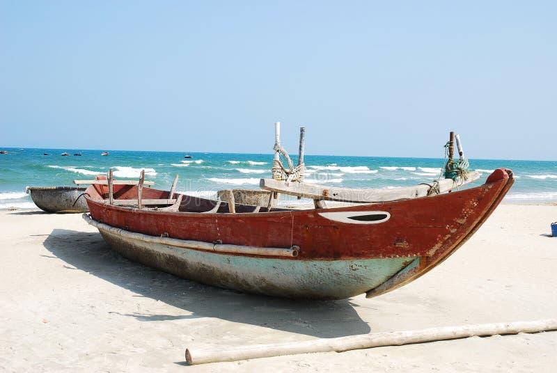 Danang-Fischerboot Vietnam stockbild