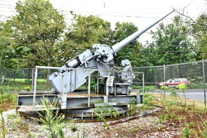 Danbury Connecticut my mobilny militarny muzeum zdjęcie stock