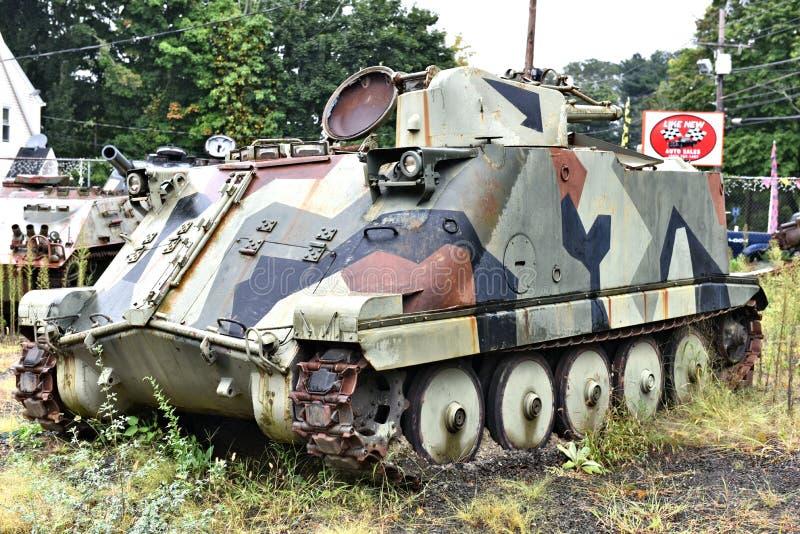 Danbury Connecticut nosotros museo militar m?vil fotografía de archivo