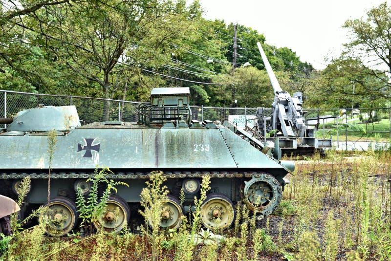 Danbury Connecticut wir bewegliches Milit?rmuseum lizenzfreie stockfotos