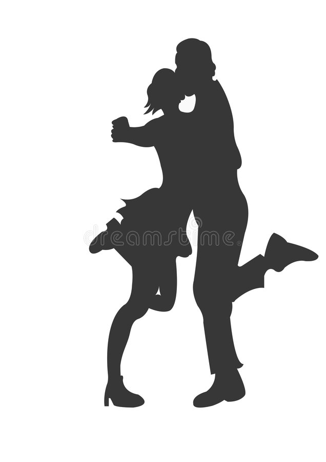 Dance royalty free illustration