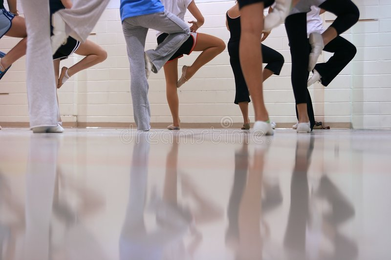 Download Dance stock photo. Image of position, practice, girls - 3850144