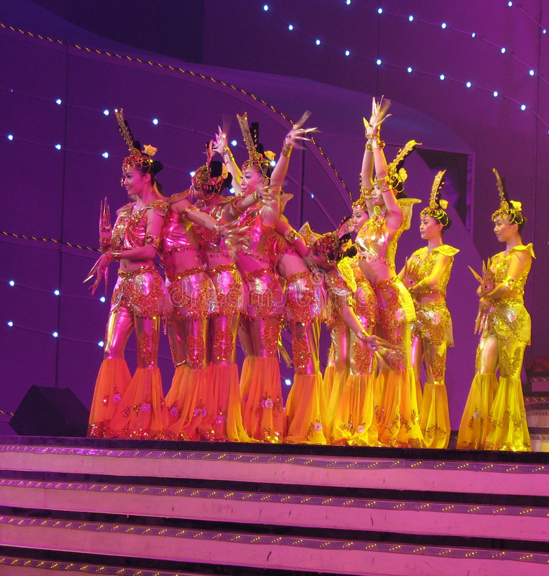 Download Dance By Chinese Deaf Actors Editorial Photo - Image: 4972651
