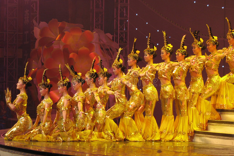 Download Dance By Chinese Deaf Actors Editorial Stock Photo - Image: 4972658