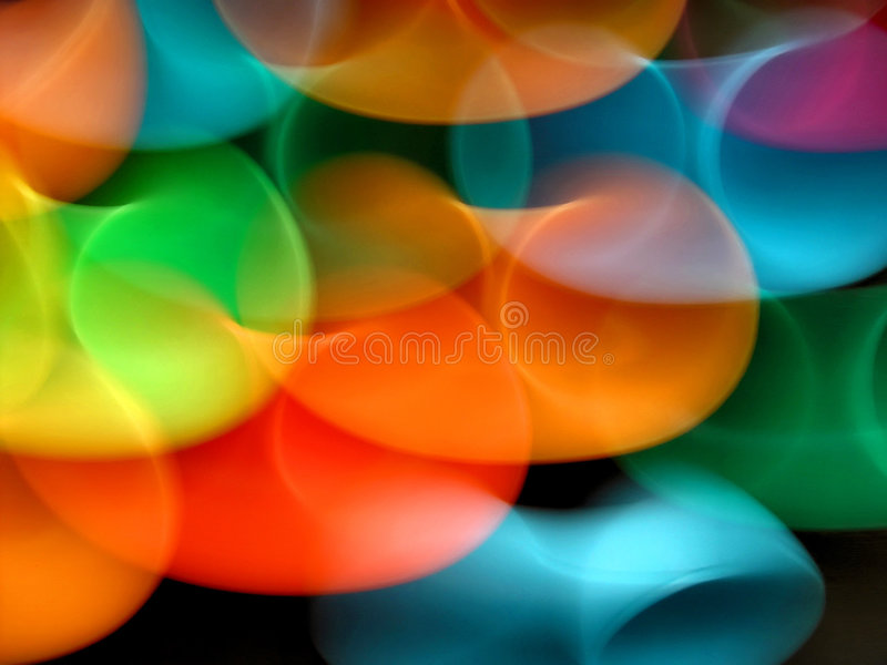 Dance of Colors #1 royalty free illustration