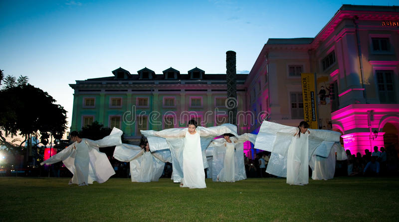 Dance at Dusk royalty free stock image