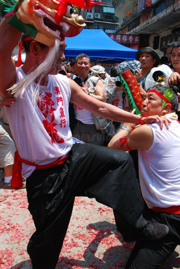 Download Dance In The Feast Of Drunken Dragon Editorial Image - Image: 9205000