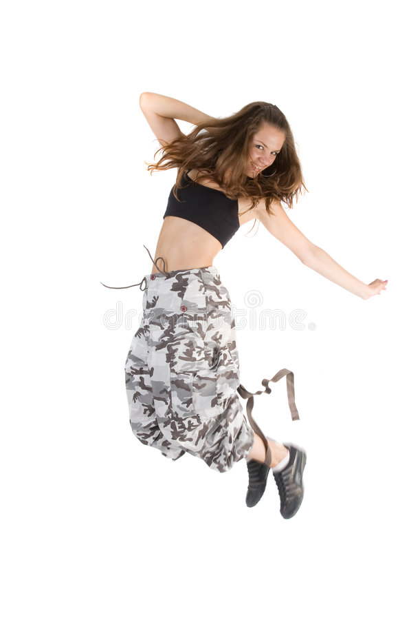 dance fly στοκ φωτογραφία