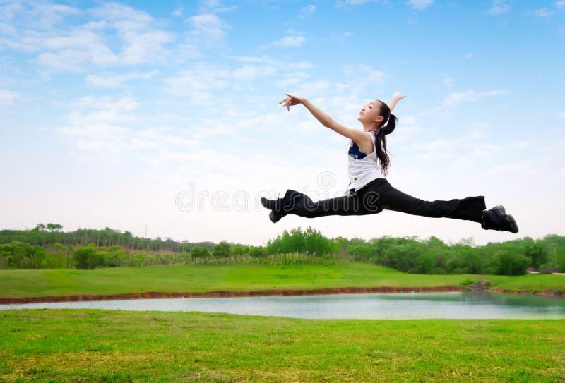 Dance girl royalty free stock image