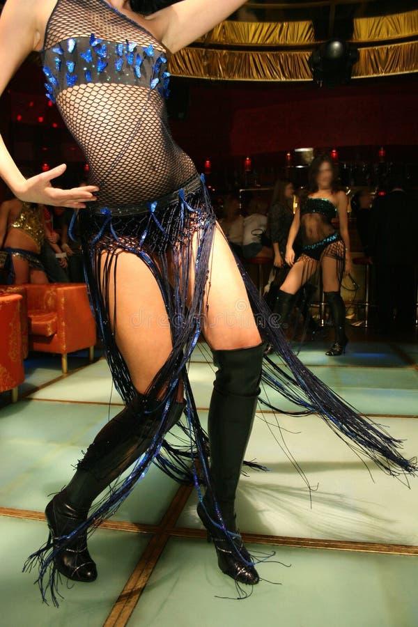 Dance girl night club royalty free stock photo