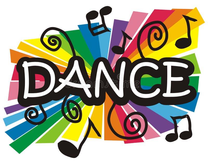 Dance illustration royalty free illustration