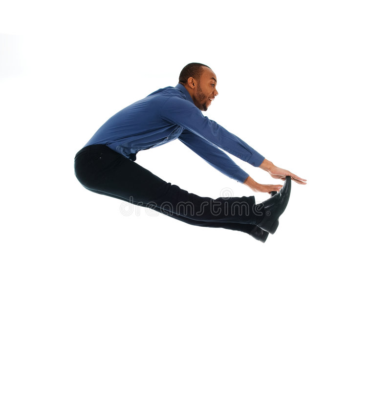 Dance jump royalty free stock photos