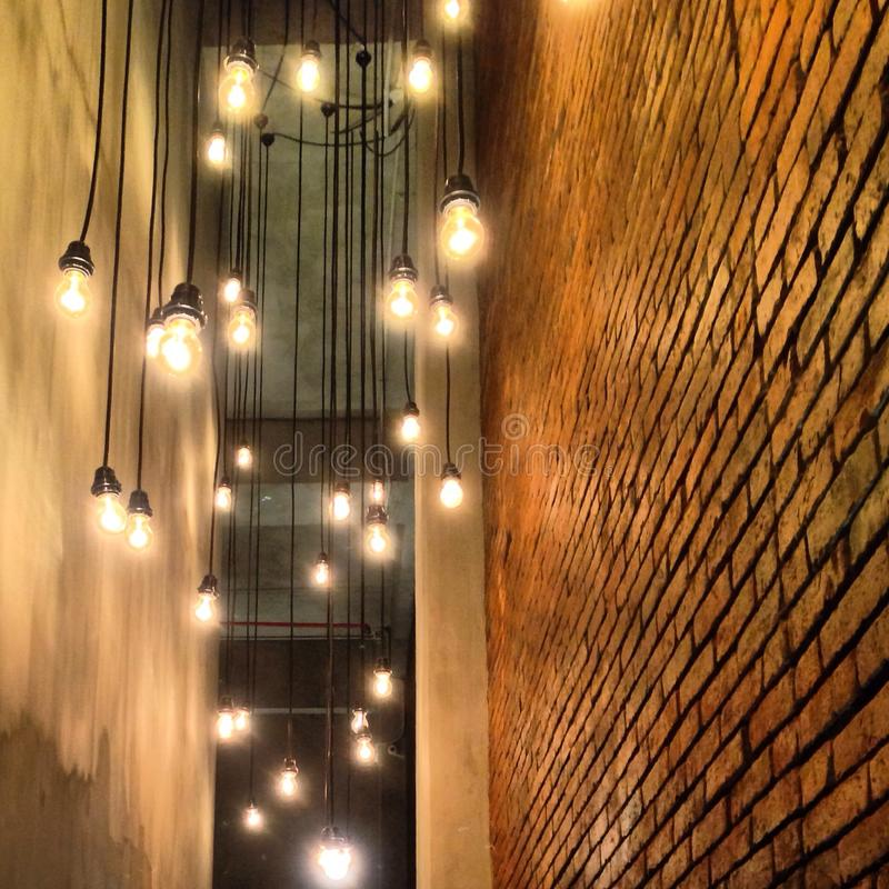 Download Dance Of The Light Bulbs Stock Image. Image Of Decor   42673625