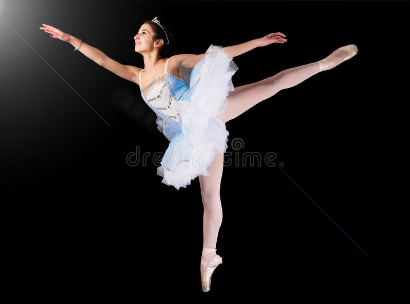 Dance like a star royalty free stock images