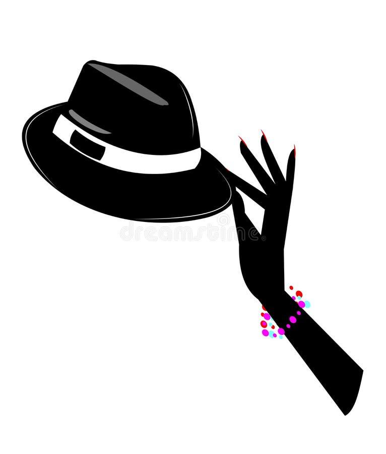Dance magic concept royalty free illustration
