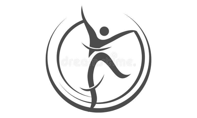 Dance Movement Logo Design Template. Vector vector illustration