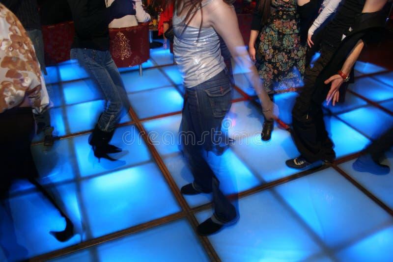 Dance night club stock image